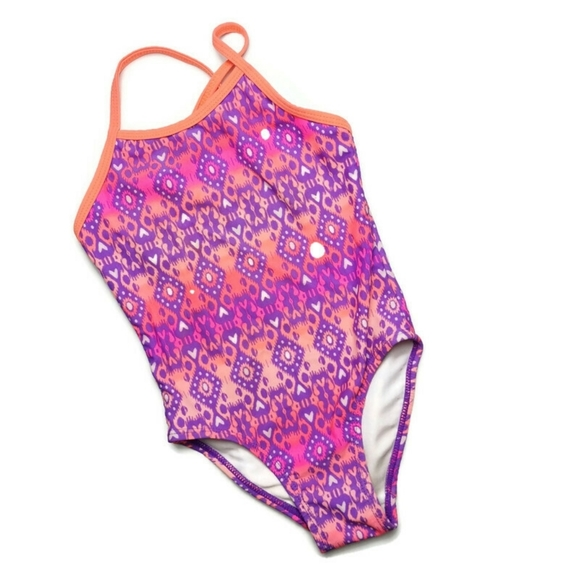 Pink Swimsuit XS 4-5